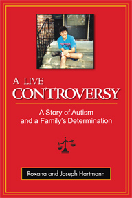 The cover of the English book titled A Live Controversy